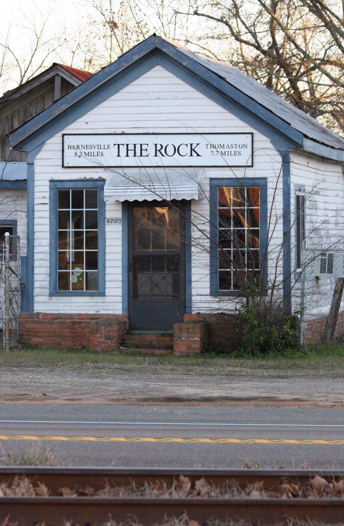 The Rock, GA. Incorporated in 1877. Unincorporated in 1993., Блаирсвилл