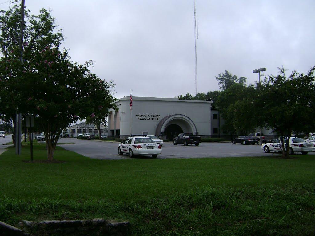 Valdosta police station, Валдоста