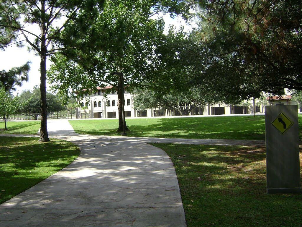 Azalea City Trail through Valdosta State University, Валдоста
