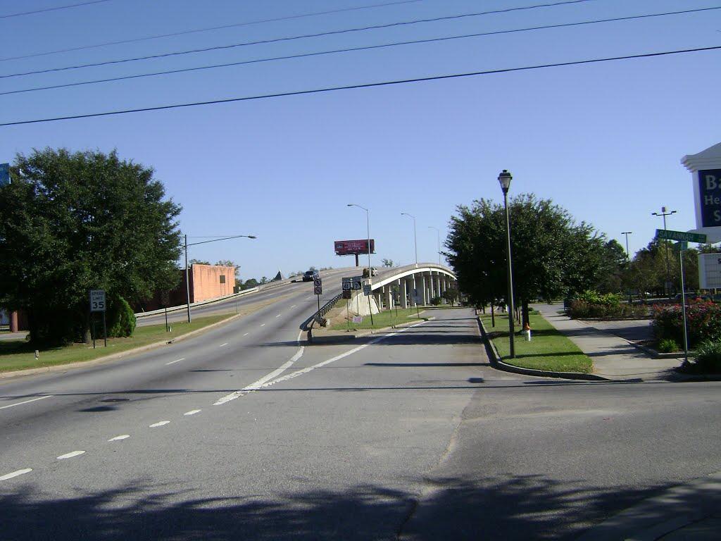 James Beck Overpass Southbound, Валдоста