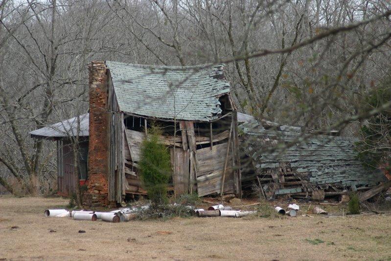 Old slave house., Варнер-Робинс