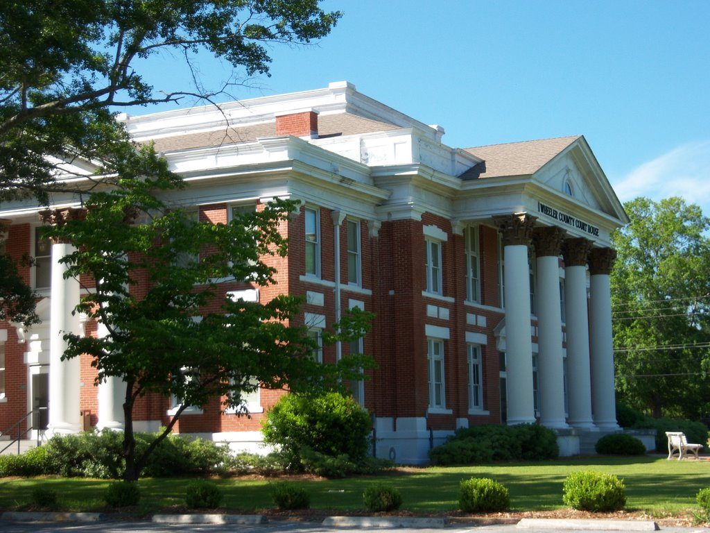 Wheeler County Courthouse, Вена