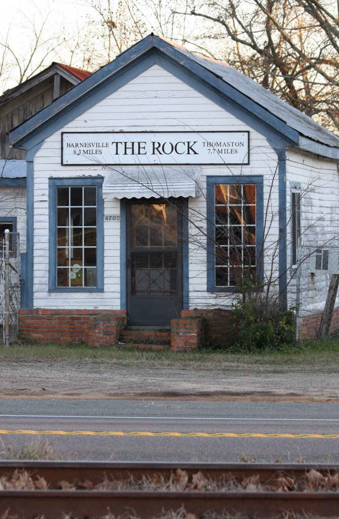 The Rock, GA. Incorporated in 1877. Unincorporated in 1993., Вест Поинт