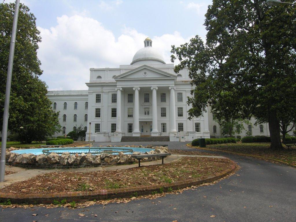 Georgia State Sanitarium, chartered 1837, Вхигам