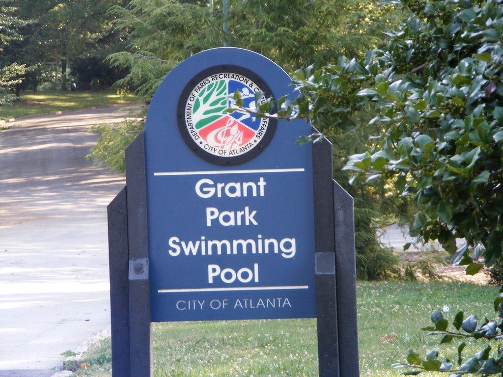 Grant Park Pool Atlanta, GA, Грешам Парк