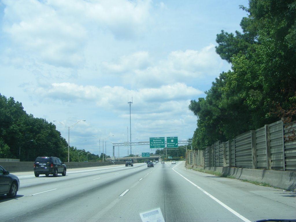 I 20 W Moreland Road Exit, Atlanta, GA, Грешам Парк