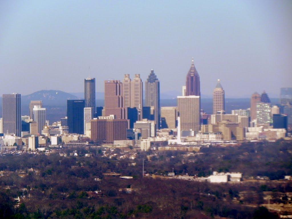 Atlanta From the Air, Грешам Парк