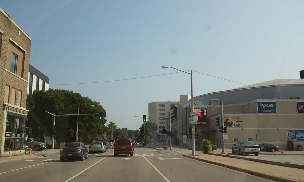 On the road, Блумингтон