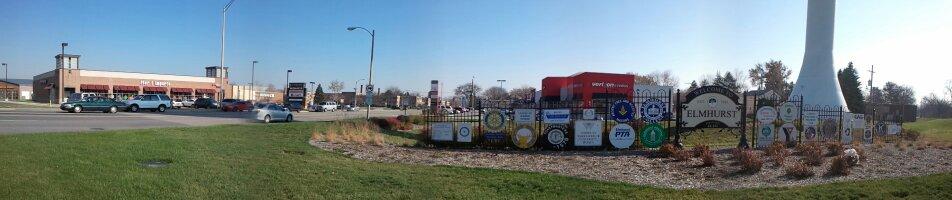 City of Elmhurst, Du Page County, Illinois USA, Вилла-Парк