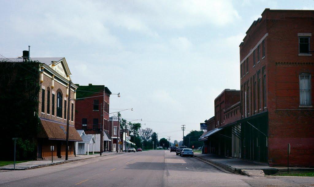 Kenney IL, Main Street USA, Галесбург