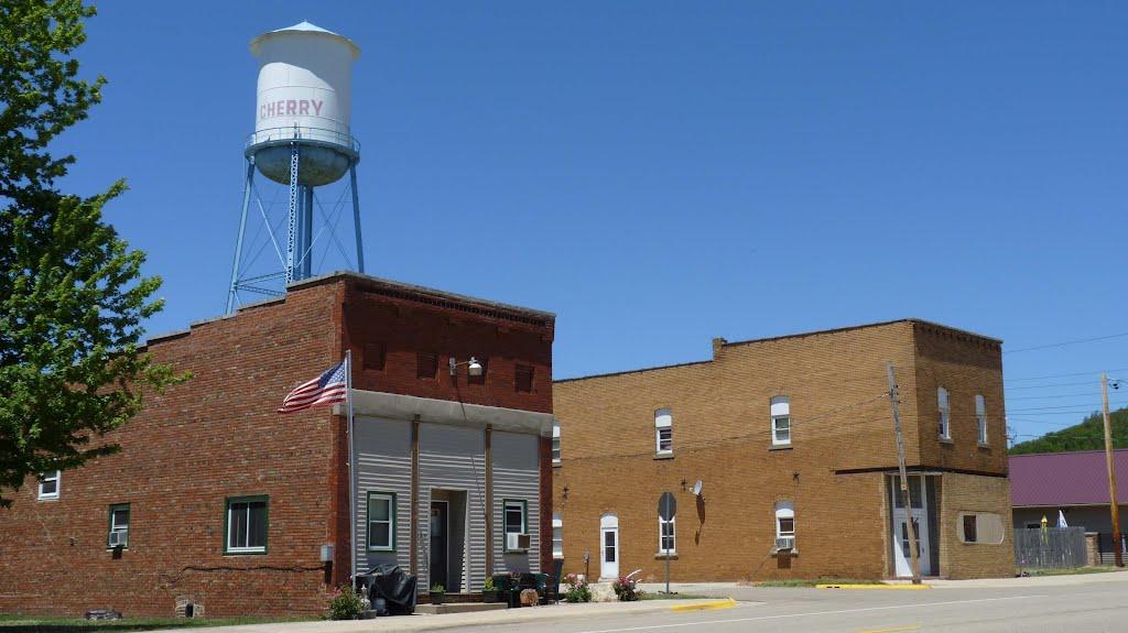 Cherry Illinois water tower, Черри