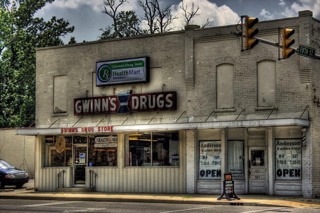 Gwinns Drugs, Андерсон
