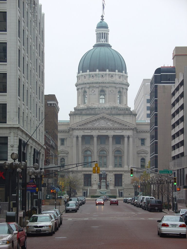 Indiana State Capitol, Индианаполис