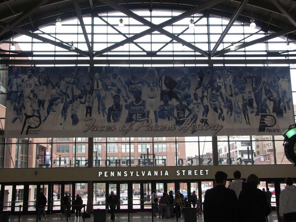 Home of the Pacers - Go Pacers!!!!!, Индианаполис