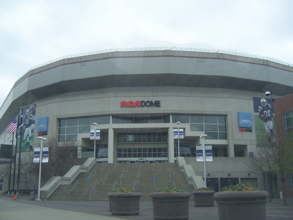RCA Dome, Индианаполис