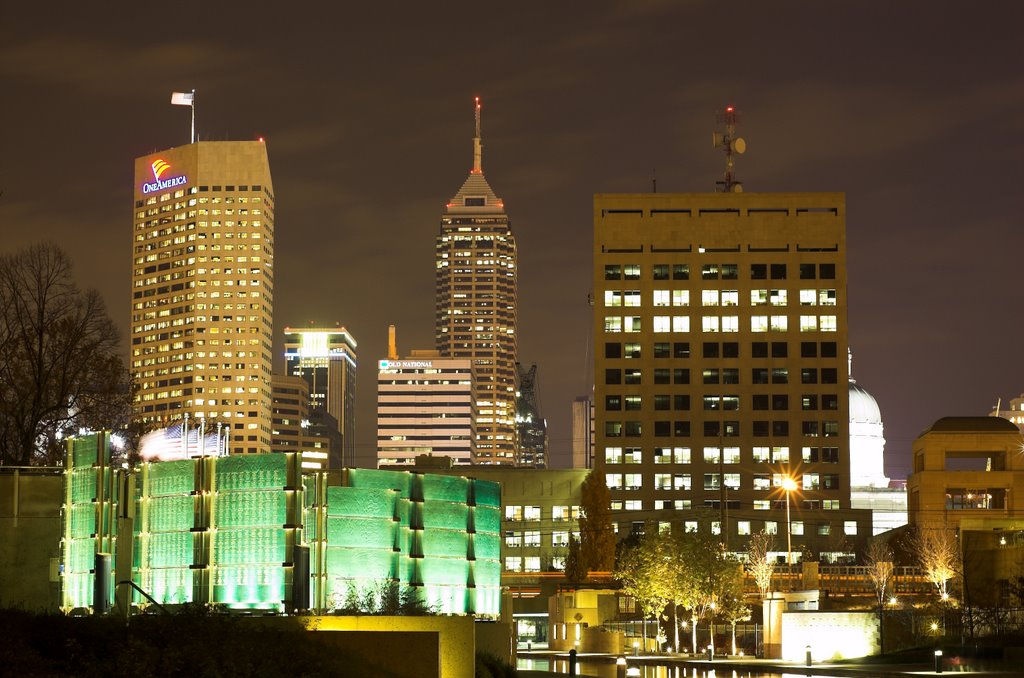 Downtown Indianapolis, Индианаполис