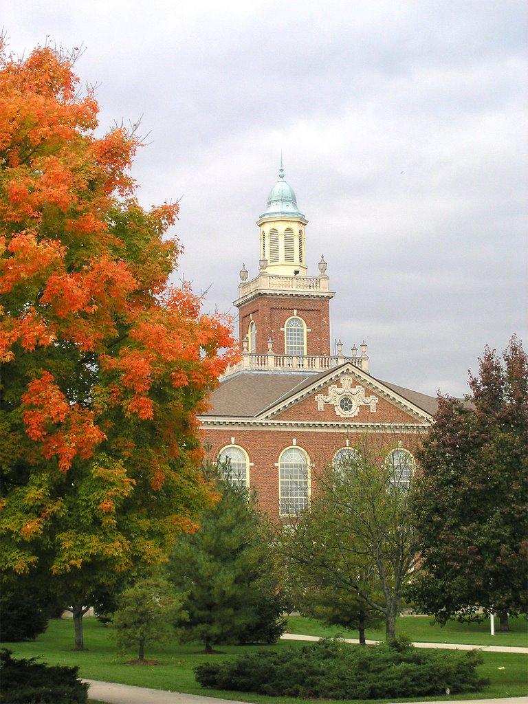 Richmond High School in Fall, Ричмонд