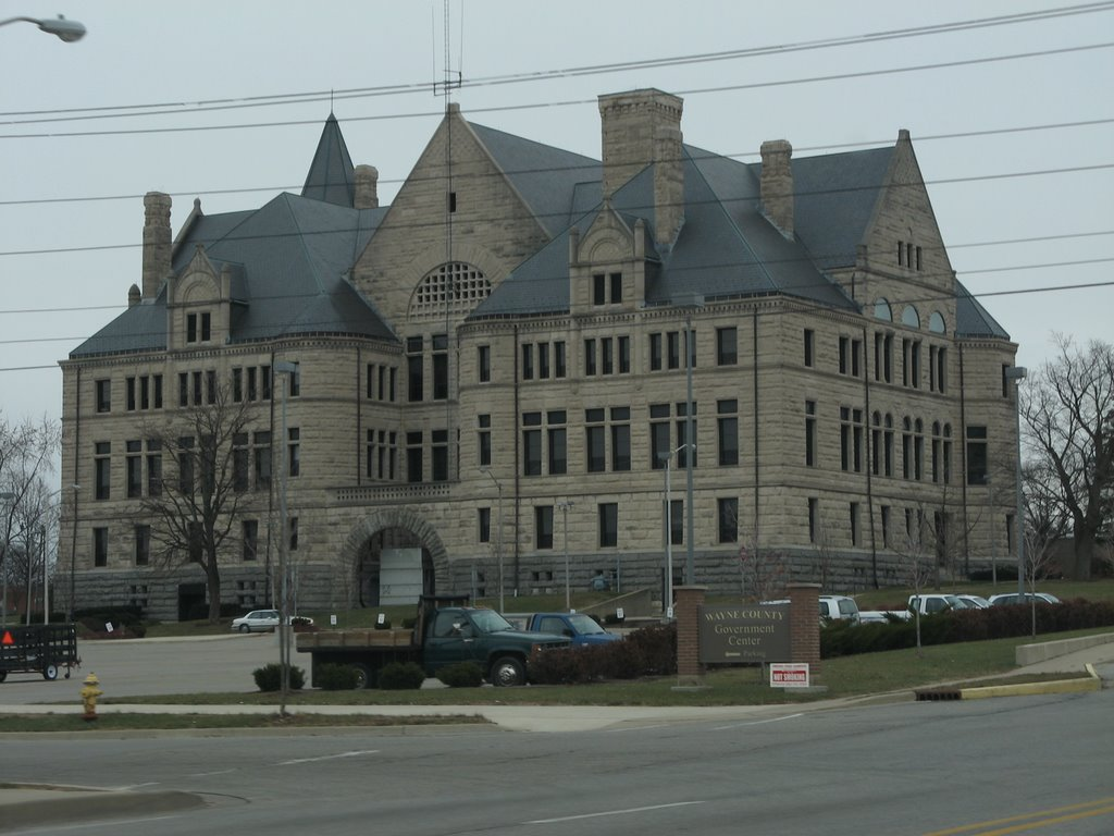 Wayne County Court House, Richmond, Indiana, Ричмонд