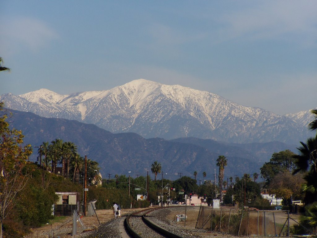 View of Mt. Baldy from Alhambra, Альгамбра