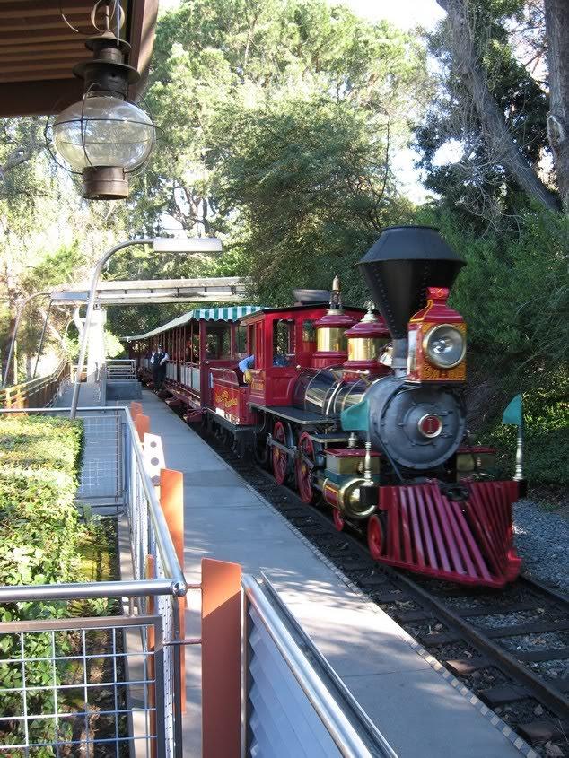 Disneyland Express, Анахейм