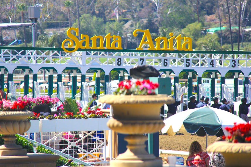 Santa Anita Race Track, Arcadia, CA, Аркадиа