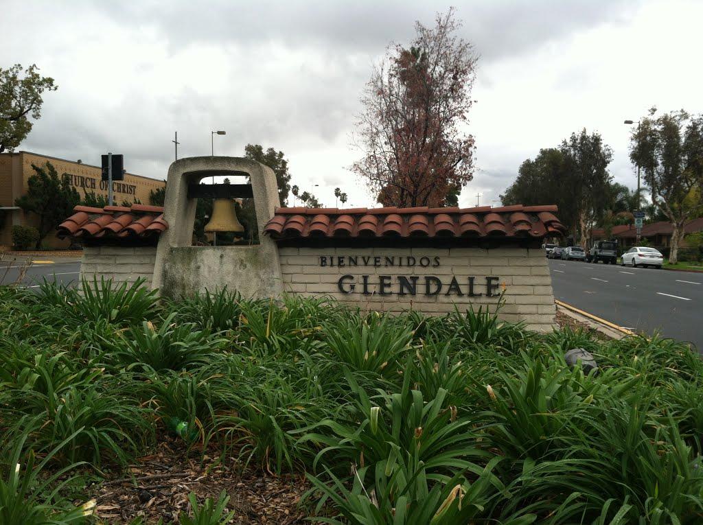 Glendale City Sign, Барбэнк