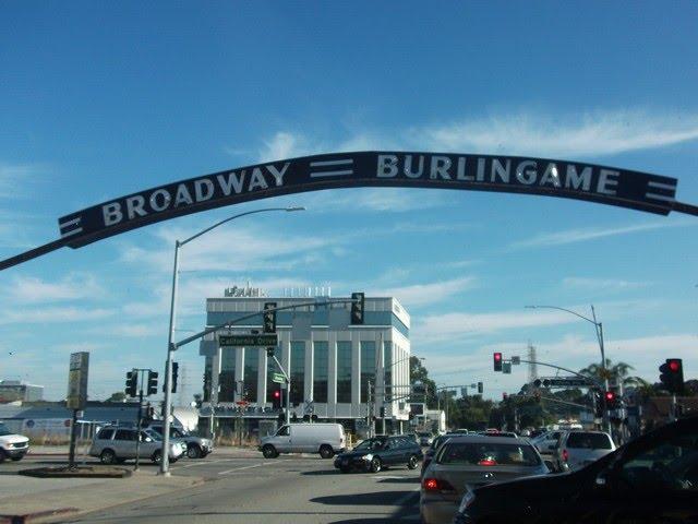 Broadway, Burlingame, Барлингейм