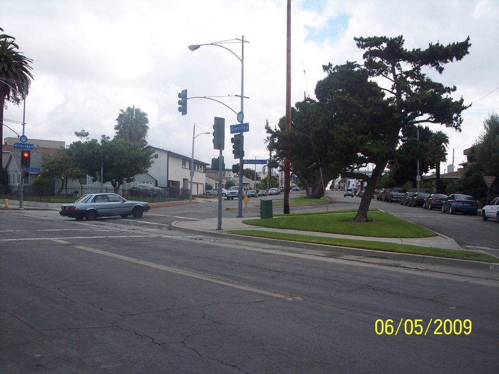 e. hillcrest boulevard, Инглвуд