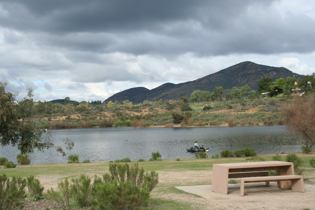 Lake Murray and Cowles Mountain, Ла-Меса
