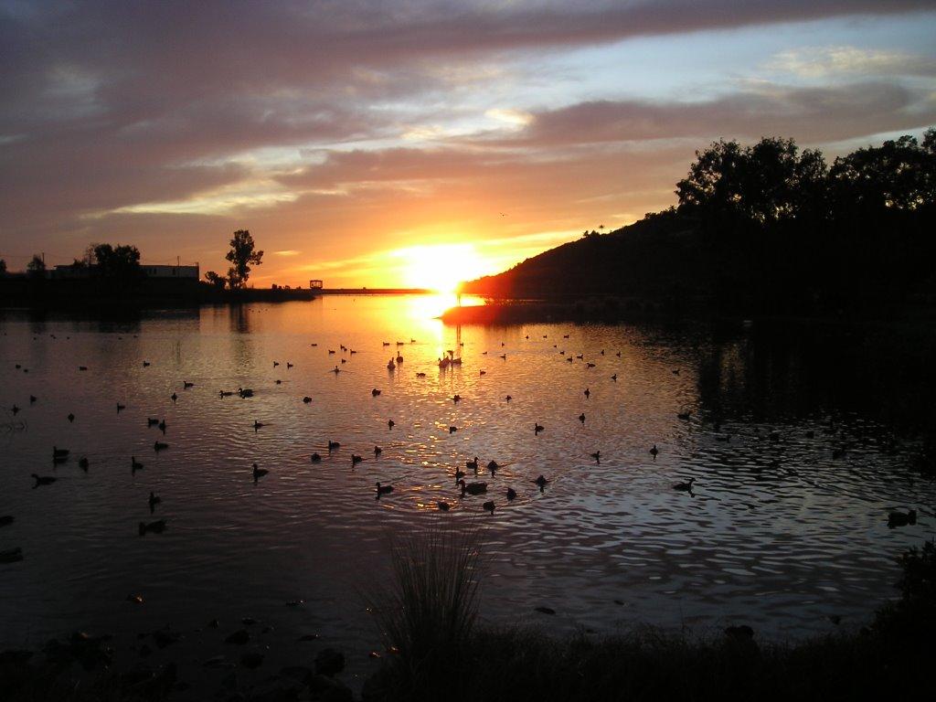 Lake Murray Sunset, Ла-Меса
