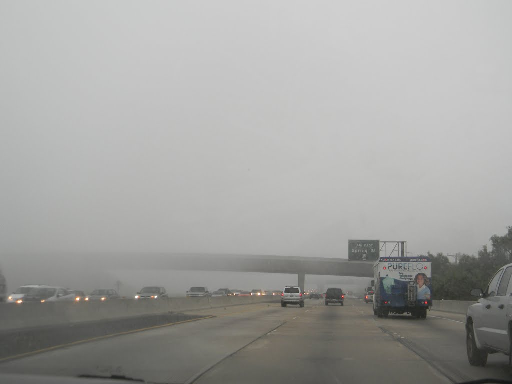 Fog in La Mesa, Ла-Меса