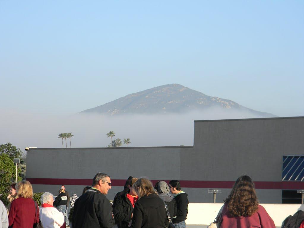 Fog around Cowles Mountain, Ла-Меса