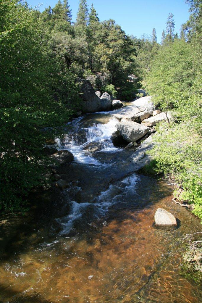 Bass Lake - Inlet Creek, California, Ла-Пальма