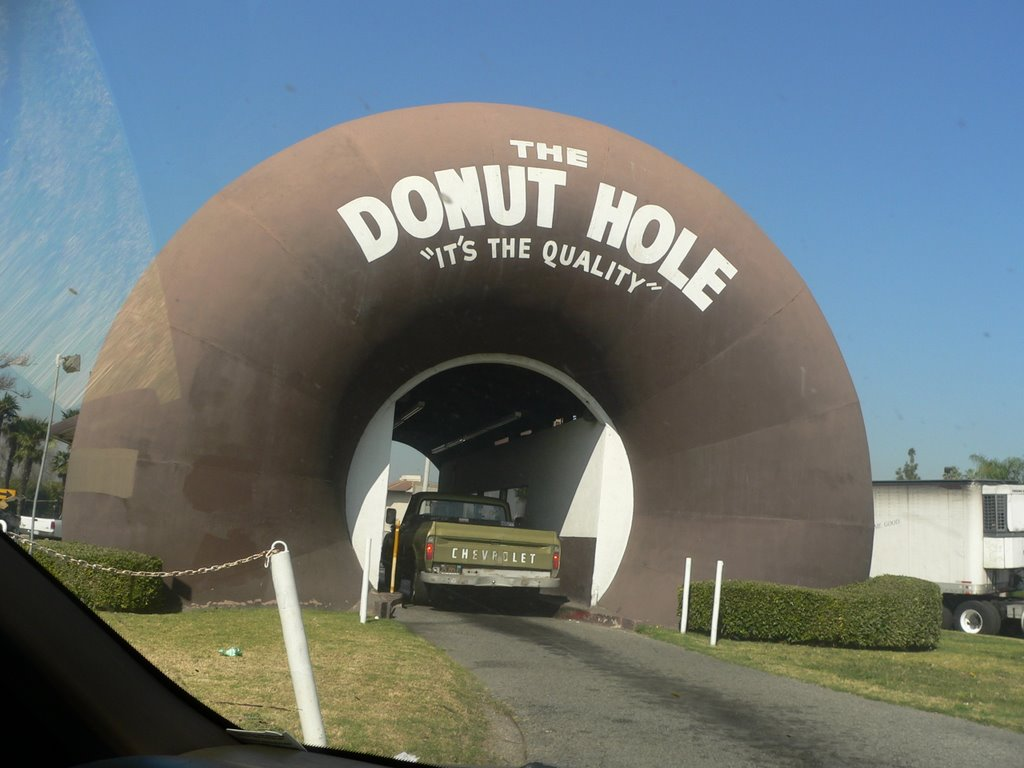 Drive-through donut, La Puente, CA, Ла-Пуэнте