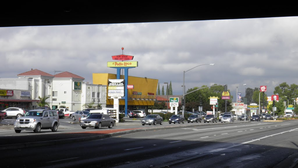 Hacienda Blvd and Fwy-60, Ла-Пуэнте