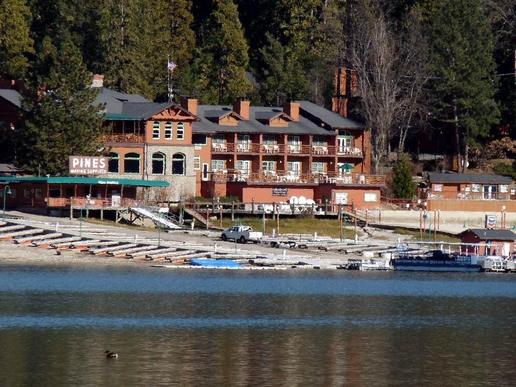 Pines Resort on a winter day, Лаундейл