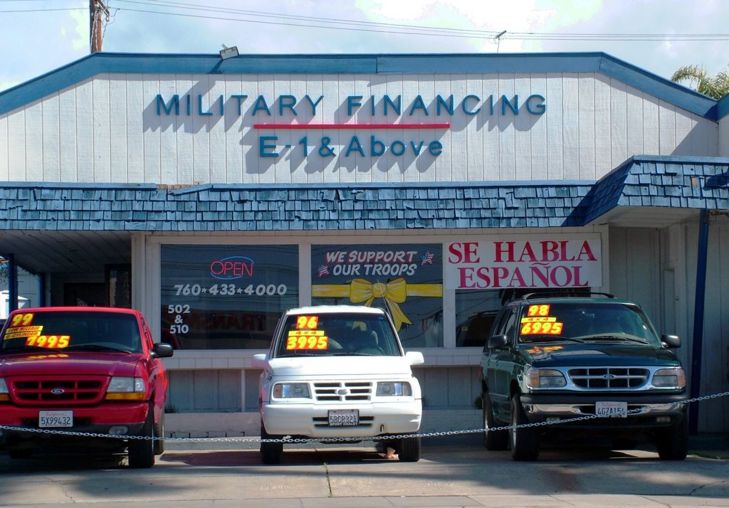 Military loans oceanside ca