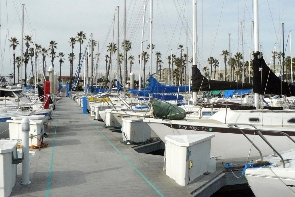 King Harbor in Redondo Beach, Редондо-Бич