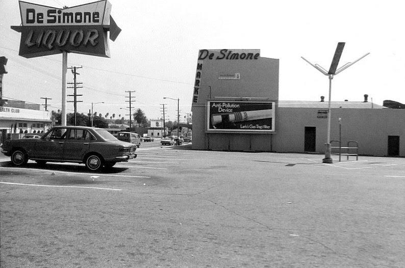 De Simone Market - Redondo Beach - 1971, Редондо-Бич