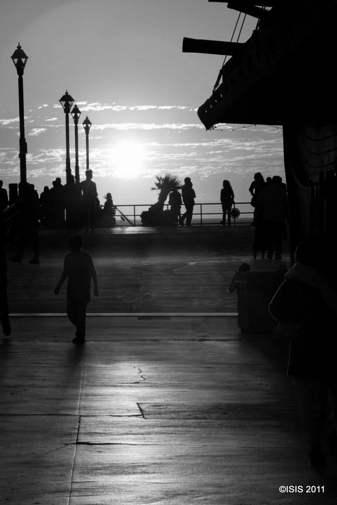 Redondo Pier Sunset 3, Редондо-Бич