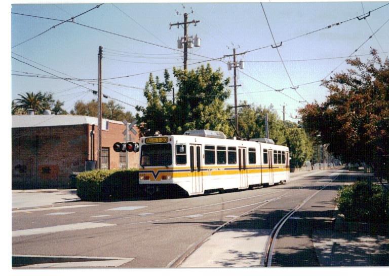 Light Rail, 13th and Q, Sacramento, Сакраменто