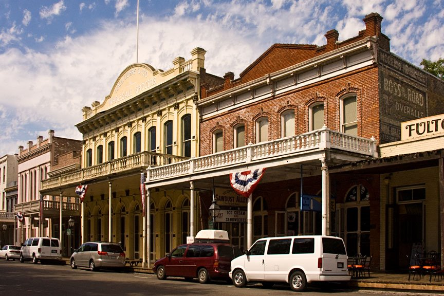 Old Town Sacramento, Сакраменто