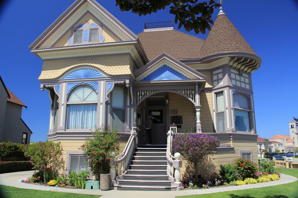 John Steinbecks birthplace, Salinas, California, Салинас