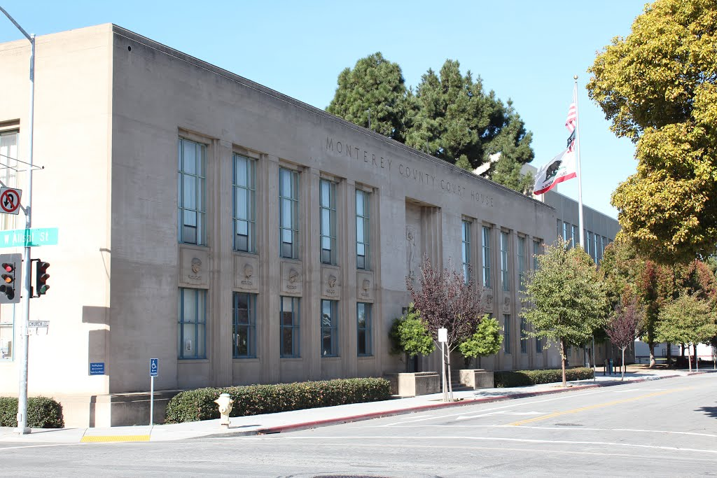 Monterey County Courthouse - Salinas CA, Салинас