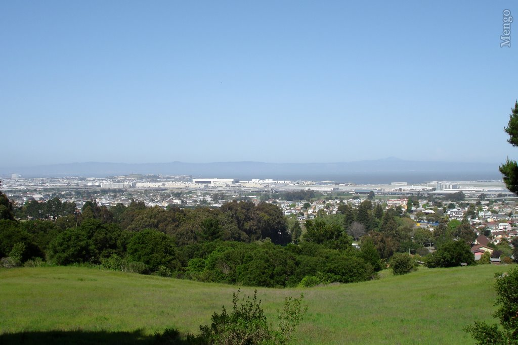 View from San Bruno Park, Сан-Бруно