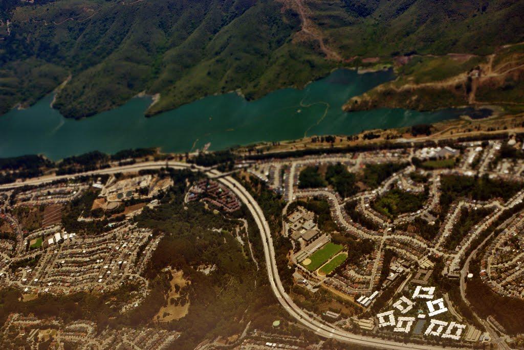 San Bruno and the beginning of the San Andreas Lake, Сан-Бруно