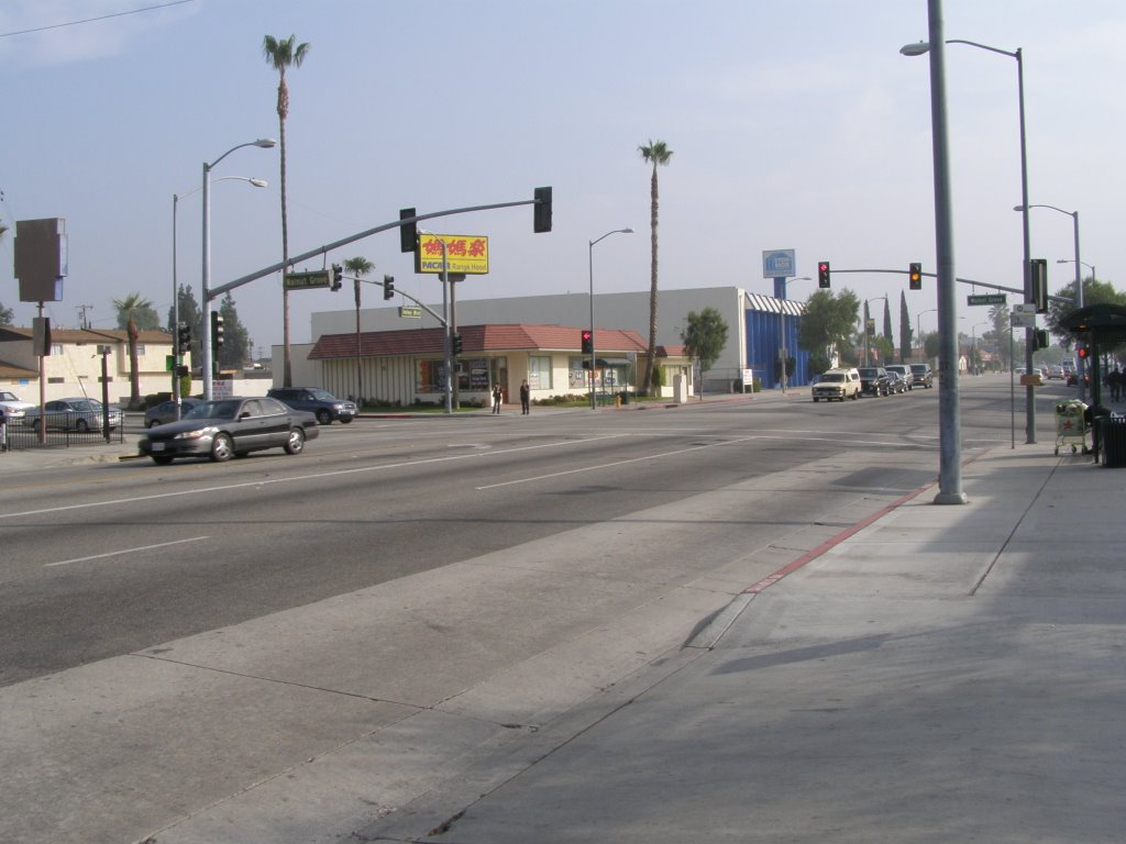 Walnut Grove - Valley Intersection, Сан-Габриэль