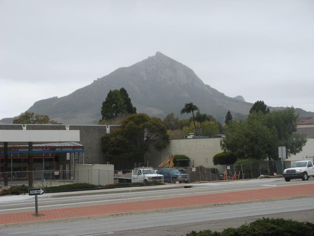 View of Bishops Peak, Сан-Луис-Обиспо
