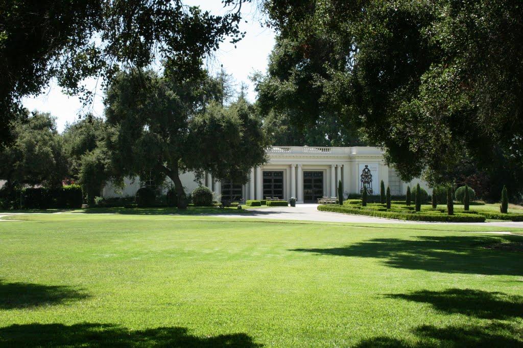 Huntington Library: un padiglione immerso nel verde, Сан-Марино