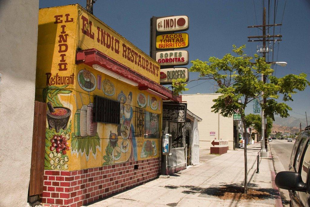 el indio restaurant, Сан-Фернандо